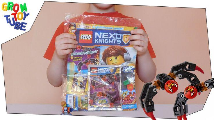 UNBOXING NEW LEGO NEXO KNIGHTS MAGAZINE 4 2016