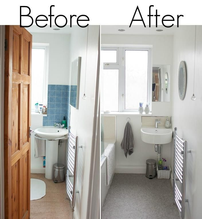 Real Homes Before And After My Bathroom Home Ideas Design Pinterest House Projects