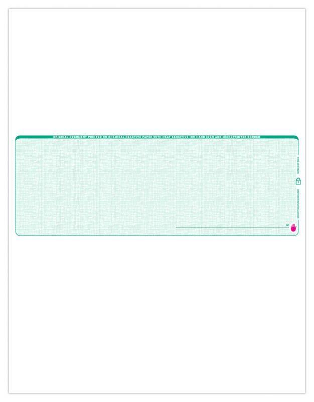 Blank Business Check Template Business Checks Payroll Checks
