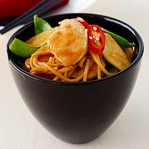(7 pp) Chicken and noodle stir fry
