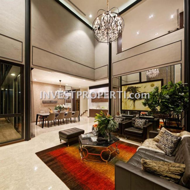 Design interior Living Room NavaPark BSD