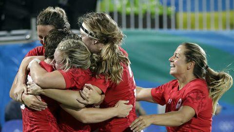 'Freaking historic': Canada wins bronze in women's rugby 7s