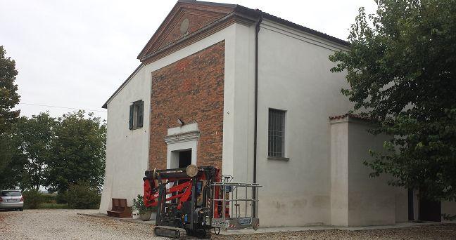 Indagini strutturali sulle strutture portanti di una chiesa
