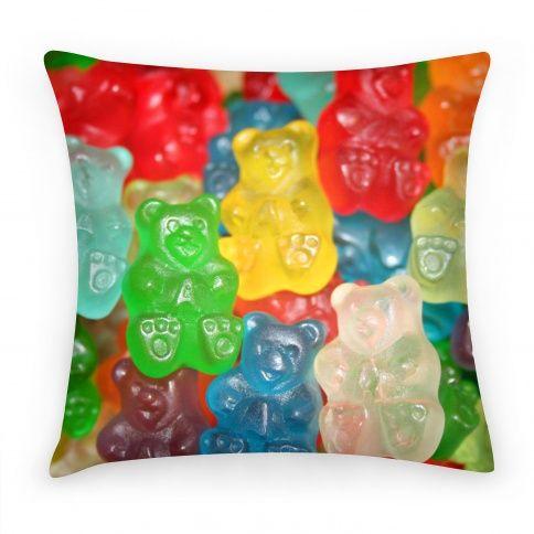 Gummy Bear Pillow #gummy #bear #pillow  GUMMIES... YUMMY YUMMY IN MY TUMMY