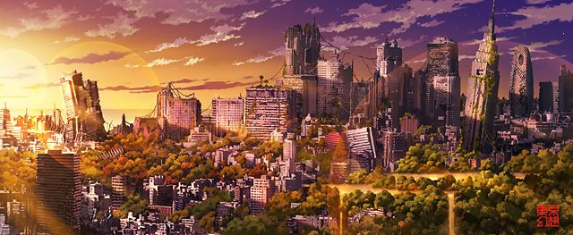 廃墟のイラストレーター「東京幻想」の世界 - K'conf