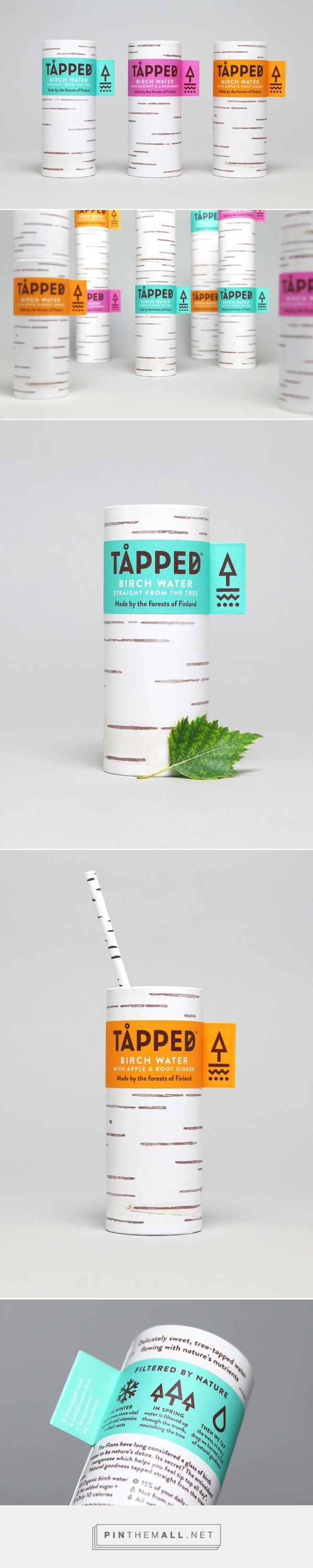 The Dieline Awards 2016: TÅPPED birch tree water- Horse — The Dieline - Branding & Packaging - created via https://pinthemall.net