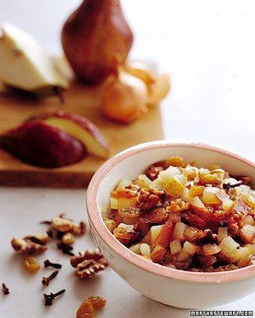 Quick Pear Chutney Recipe