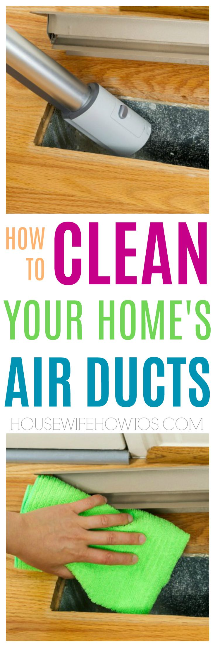How to clean your own air ducts – I had no idea you can DIY this but now this household chore is part of my monthly cleaning routine.