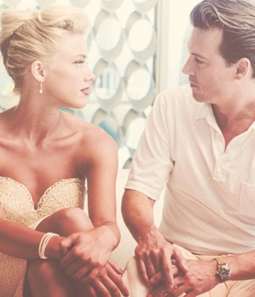 The Rum Diary...she is so pretty and I love you Johnny