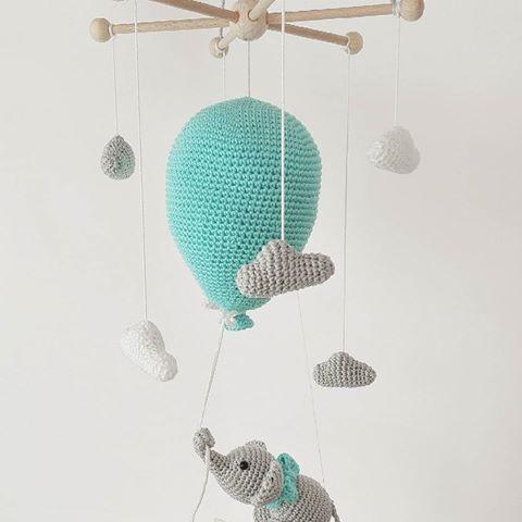 Mobile Mit Elefant Am Luftballon Ich Bin Selbst Total Verliebt In