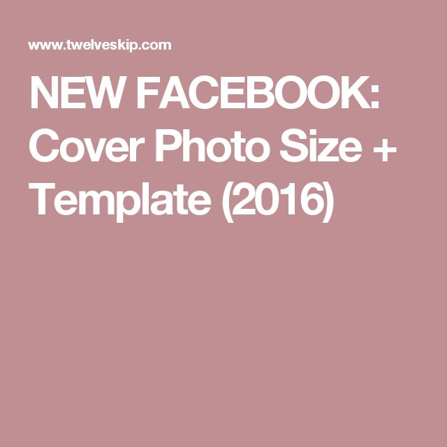 Best 25+ Facebook cover size 2016 ideas on Pinterest | Facebook ...