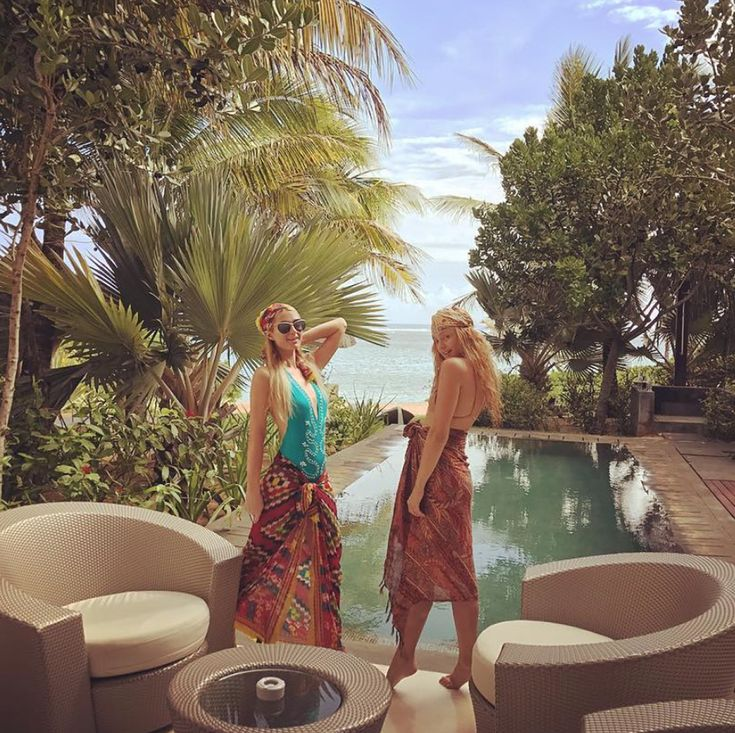SO Sofitel Mauritius is a hotel in Bel Ombre, Mauritius that is popular with celebrities. Paris Hilton hung here with a friend in December 2016.