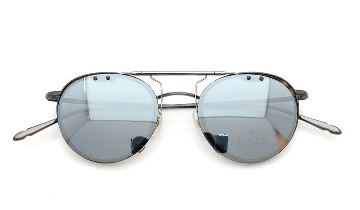 CLAYTON-FRANKLIN 606 MBR/MHB clip-on SMG/GM | clip-on mirror-sunglass by PonMegane