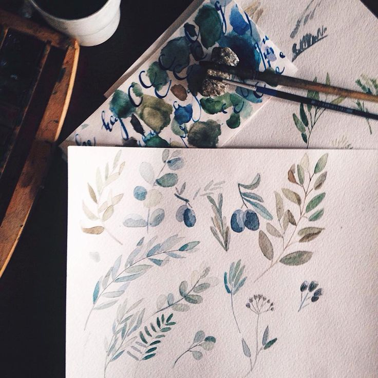 Перерыв на кофе и дальше акварель, тушь и множество проб и ошибок #flubdub_polygraphy #illustration #watercolor #painting #igers #igkharkiv #instakharkiv #vscokh #vscoua #vscogood