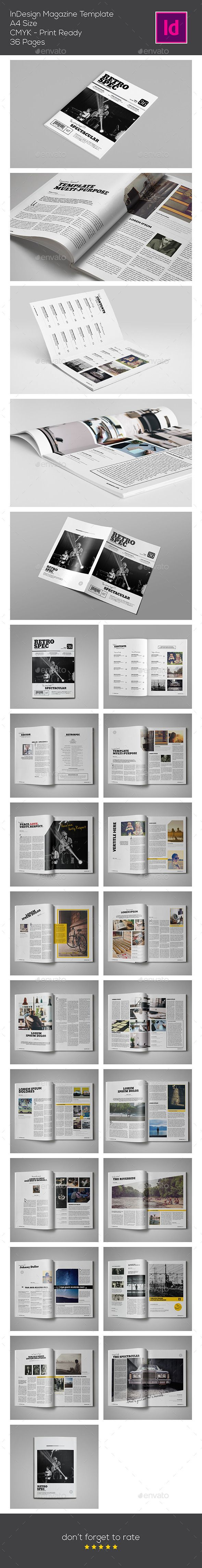 InDesign Magazine Template | #magazinetemplate | Download: http://graphicriver.net/item/indesign-magazine-template/9694359?ref=ksioks