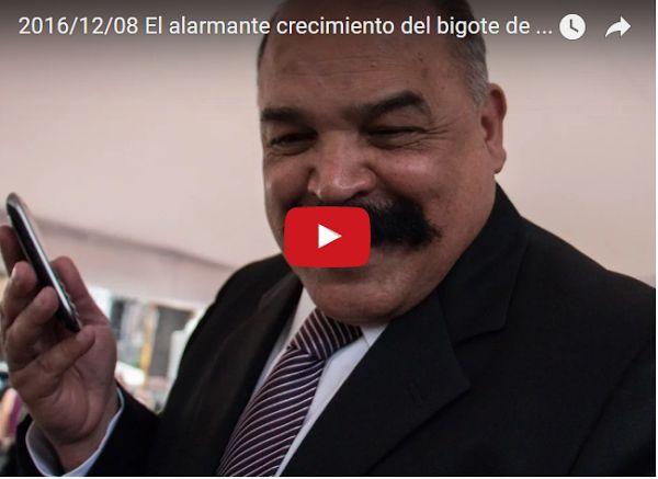 Luis Chataing alerta sobre el crecimiento del Bigote de Merentes  http://www.facebook.com/pages/p/584631925064466