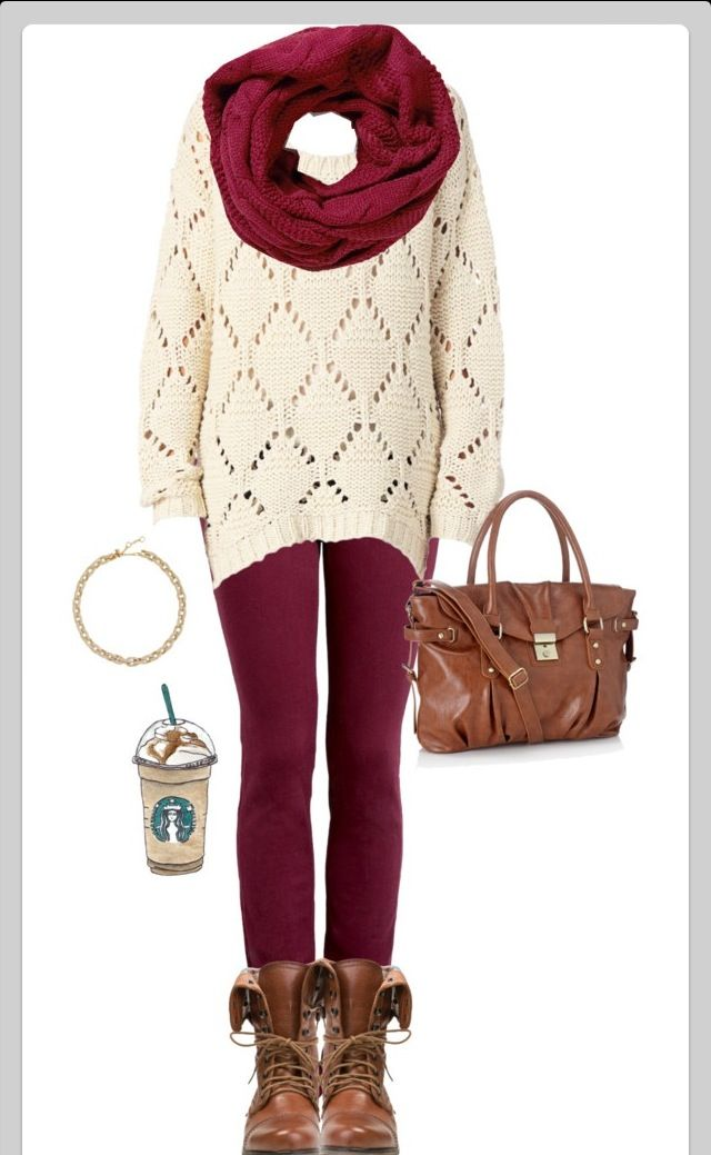 Fall outfit lol the frappachino