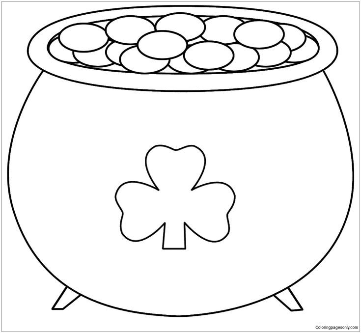 Best St Patricks Day Coloring Page In 2020 St Patrick S Day