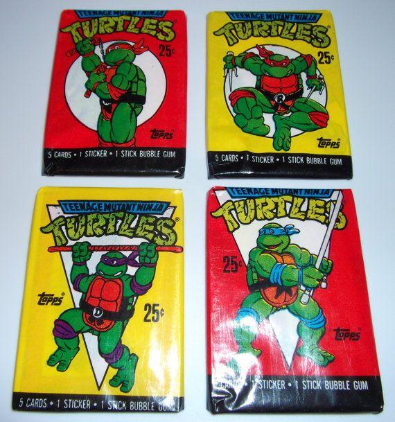 1989 TMNT Vintage Teenage Mutant Ninja Turtles by vintagesweaters1, $9.99 /// www.kennycolors.com