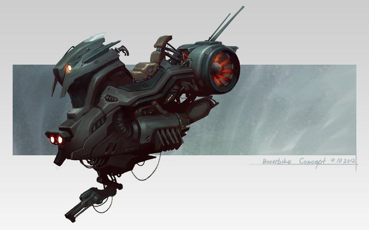 Apocalyptic Hover Vehicles
