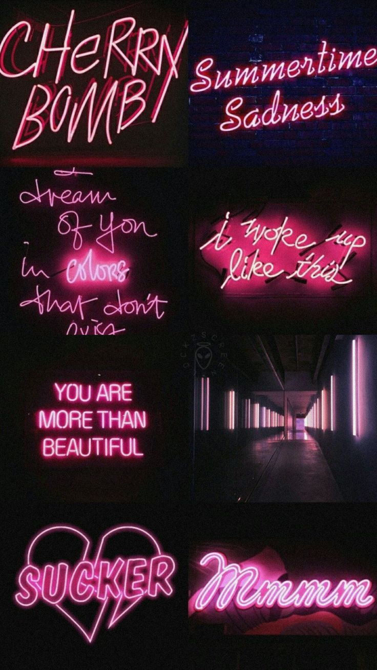 Pin by 🖤 on Pink Pink wallpaper iphone, Neon wallpaper