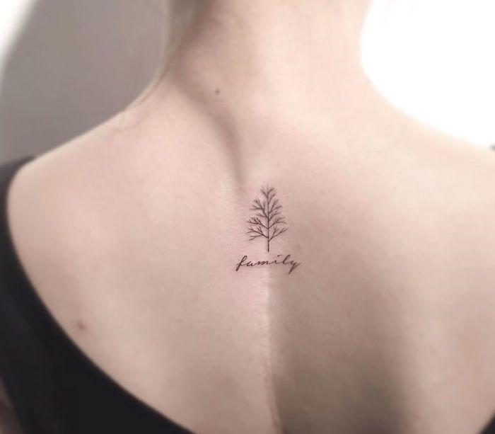 13+ Minimalist Tattoos By A Korean Artist