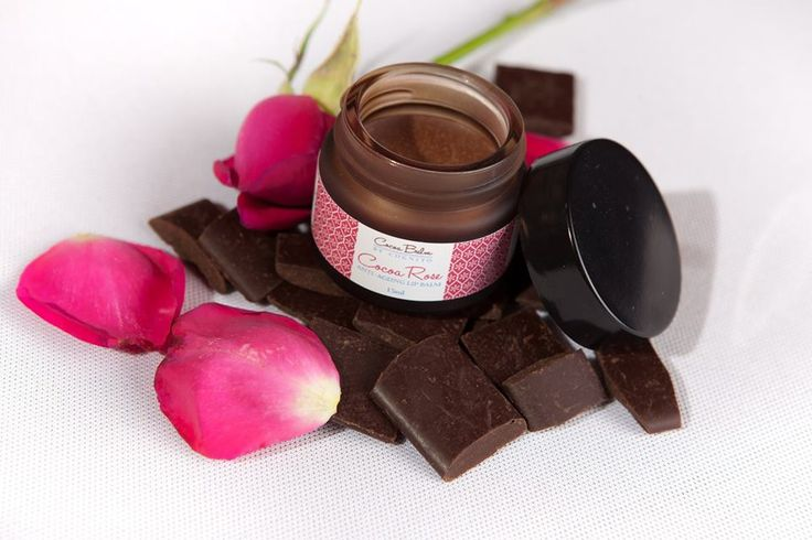 Luxury Rose Cocoa Balm A delectable blend of pure 100% cocoa and premium Rose essential oil, this Lip Balm is packed with anti-oxidants and minerals which help to soften, nourish and moisturise delicate skin. Suitable for all skin types this smooth, rich chocolate treatment contains naturally occurring calcium, potassium and magnesium which, together with the beautifully fragrant oils, will penetrate and remineralise.  http://cognitospa.co.uk/ourshop/cat_890716-Luxury-Cocoa-Lip-Balm.html