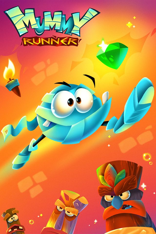 Mummy Runner Game banner 002