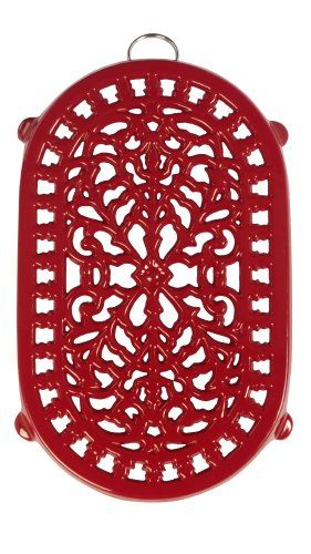 Old Dutch Red Oblong Trivet reminds me of something similar that was sold in the Dutch Pantry gift shop