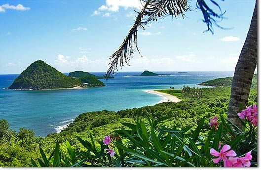 Sugarloaf Island is on the northwestern tip of Grenada - beautiful Levera Beach - for a romantic walk and you might even see a leatherback turtle.