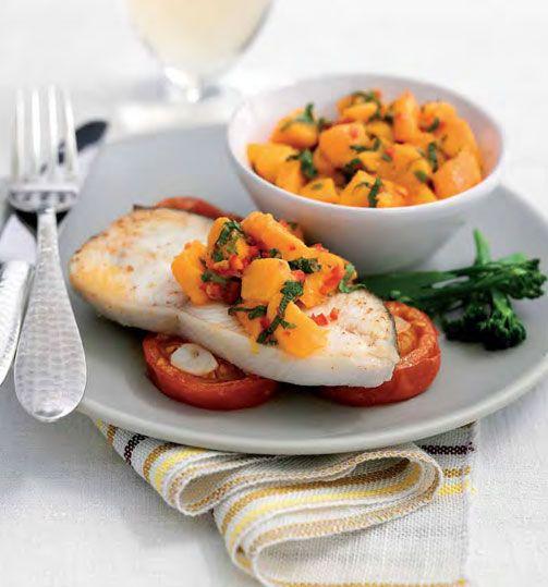 NEFF - CookingPassion Blog: Ricette, consigli, video ricette per te che ami cucinare : Tranci di Halibut_in salsa di mango