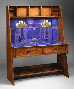 Washstand made for Miss Kate Cranston by Charles Rennie Mackintosh