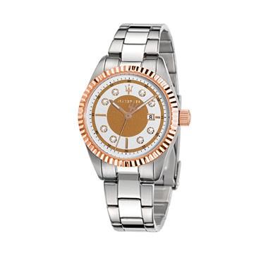 #ilovetoshop Maserati Women's Competizione Stainless Steel Watch, Rose Gold