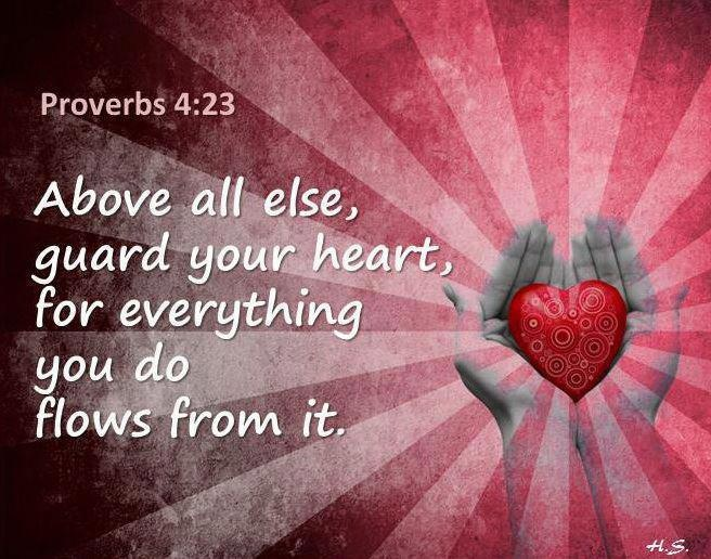 17 Best Ideas About Proverbs 4 23 On Pinterest