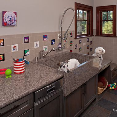 Dog Grooming Tubs and Sinks   ... for laundry dog grooming and elaborate entertaining the dog grooming