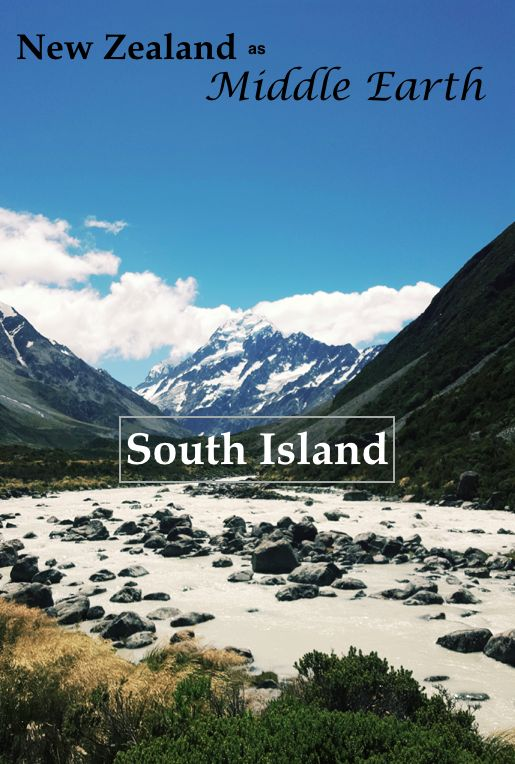 Guide to the sights of Middle Earth in the South Island!