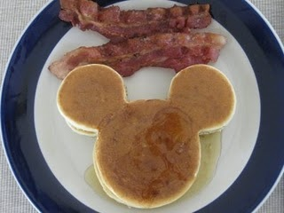 mickey mouse pancakes--made these all the time when my boys were little! brings back good memeories!!