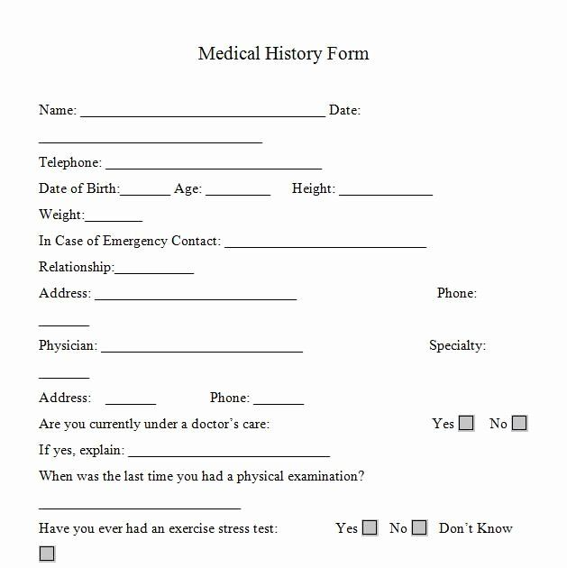 30 Personal Trainer Waiver Form Template In 2020 Health