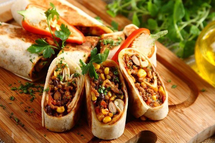 Przepis na Burrito z baraniną i czosnkiem