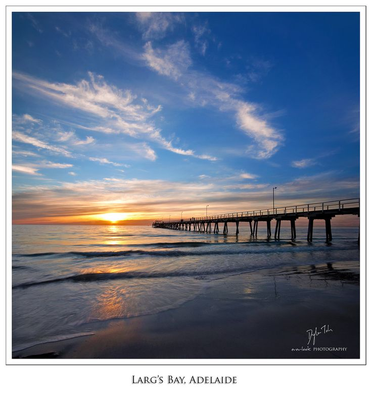 Sunset at Largs Bay, Adelaide_ South Australia