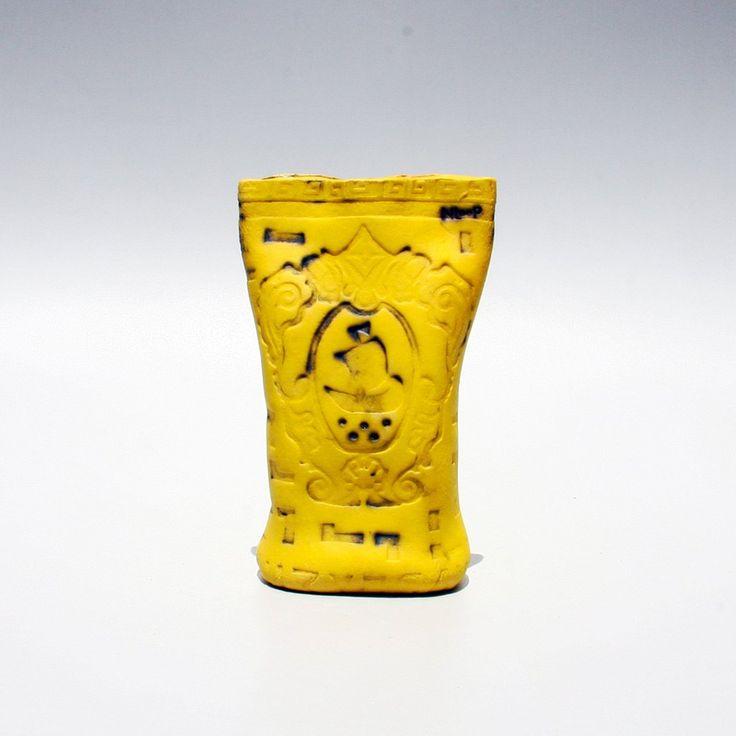ODYSSEUS VASE yellow