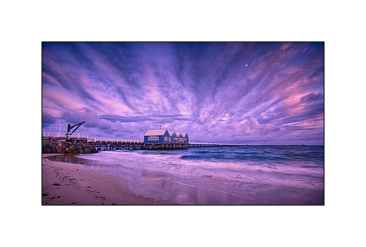 Australian Landscape Photography - Paul Theseira Photo Art - 3 Views of the Most Photographed Jetty in Western Australia
