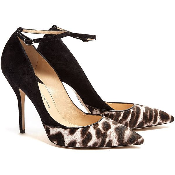 Paul Andrew Snowcat Bouchara Stiletto Pointed Court Shoes - hot!