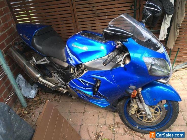 2001 Kawasaki ZX-12R Ninja Candy Blue #kawasaki #zx12r #forsale #australia