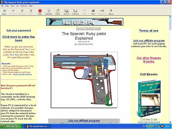 Spanish Ruby Pistol - Downloadable Ebook - H&L Publishing