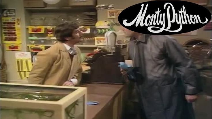 The Parrot Sketch - Monty Python's The Flying Circus