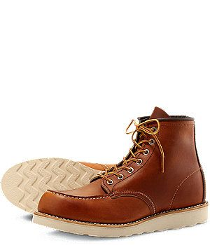 The 1907 - modeled after the original work boot styles that made Red Wing famous.