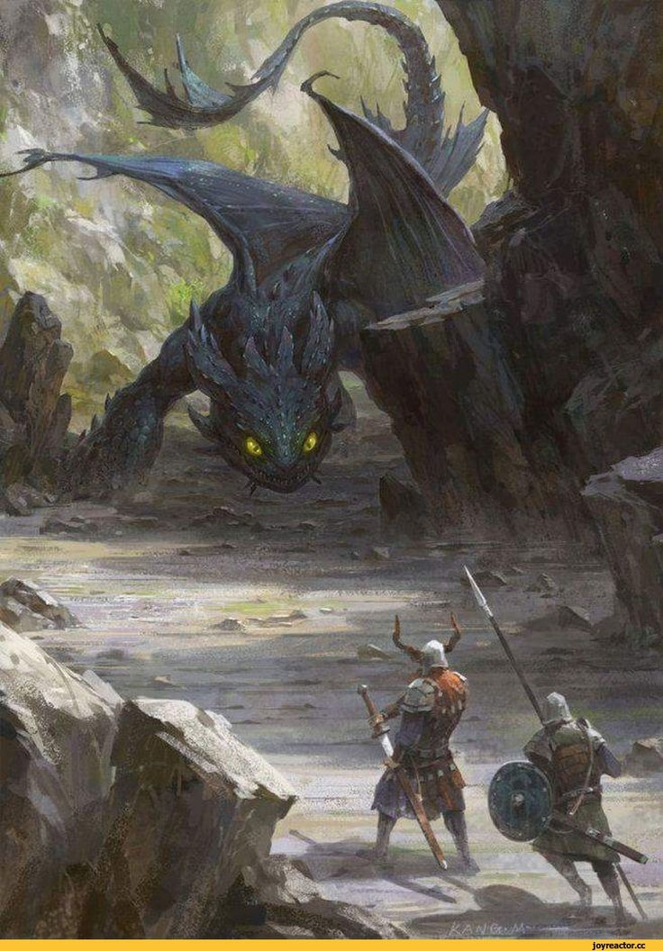картинки викинг и дракон целом