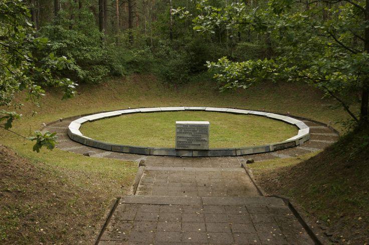 Paneriai Memorial. Vilnius, Lithuania