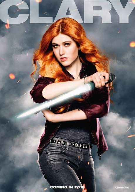 Clary Fray #Shadowhunters coming in 2016